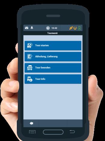 TISLOG Logistik-Software Benutzeroberfläche