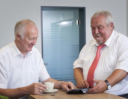 Josef Bielefeld und Peter Giesekus – TIS GmbH