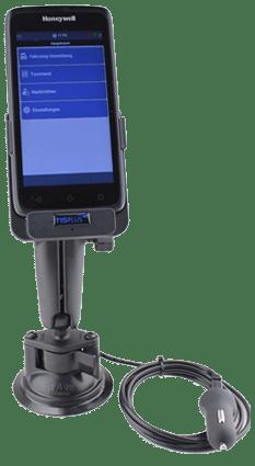 TISPLUS Hardware-Zubehör für die Logistik - Fahrzeughalterung für EDA50